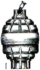 Les grenades artisanales et réglementaires françaises  1 Bezzozi