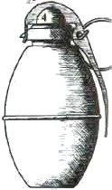 Les grenades artisanales et réglementaires françaises  1 Incendiaire3
