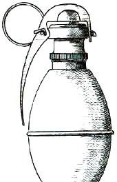 Les grenades artisanales et réglementaires françaises  1 Suffocante1
